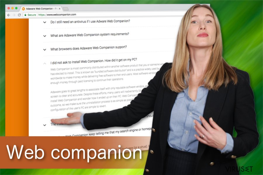Illustrasjon av Web Companion