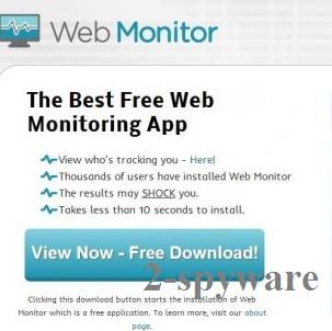 Web Monitor skjermbilde