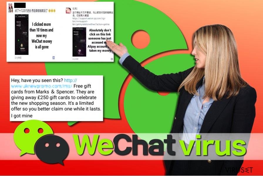 WeChat-virus eksempler