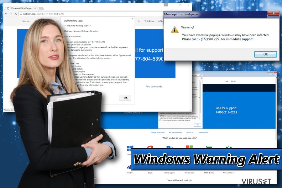 Bilde av Windows Warning Alert