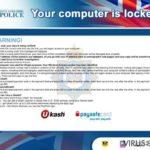 Your computer has been locked skjermbilde