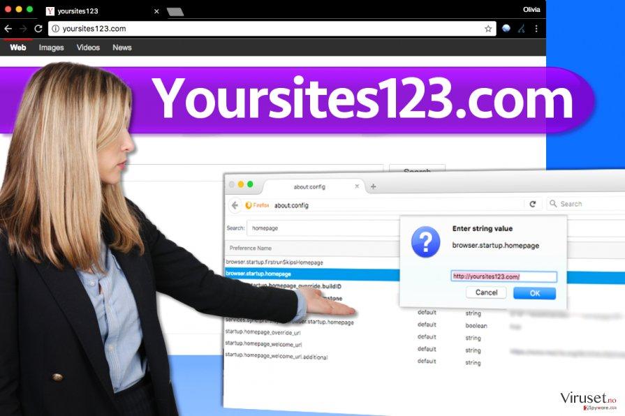 YourSites123.com skjermbilde